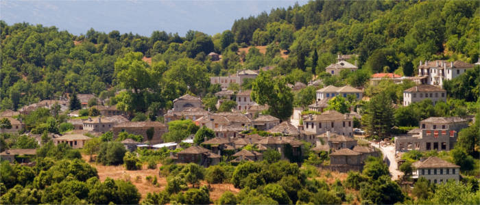 A typical mountain village in Epirus