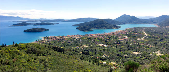 Lefkada and its neighbouring islands