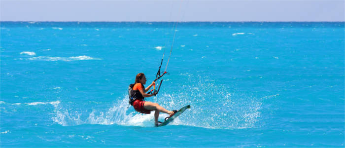 Wakeboarding on the Ionian Islands