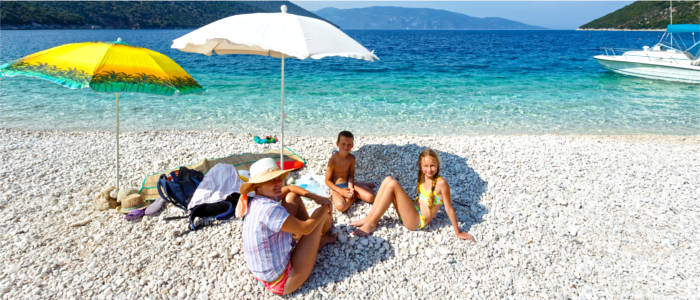 Beach holidays at the Ionian Sea