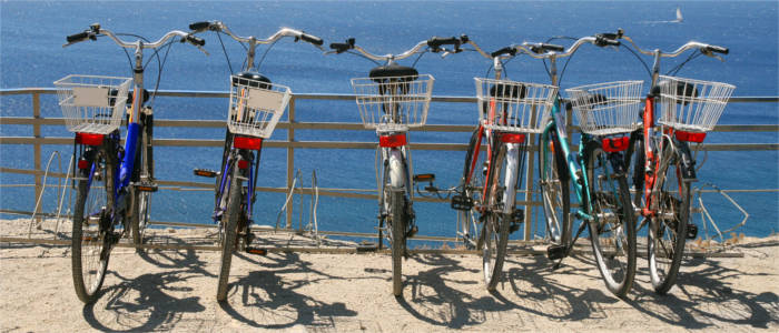 Cycling on the island of Kos