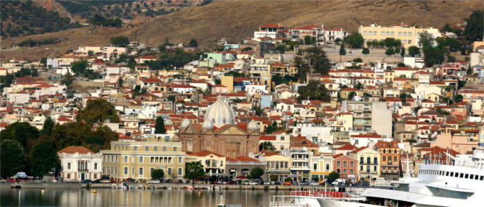 The capital of Lesbos