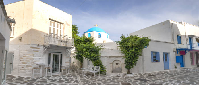 The capital of Paros
