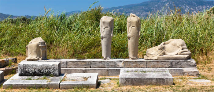 Greek cultural site on Samos