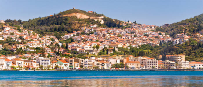 Typical scenery on Samos