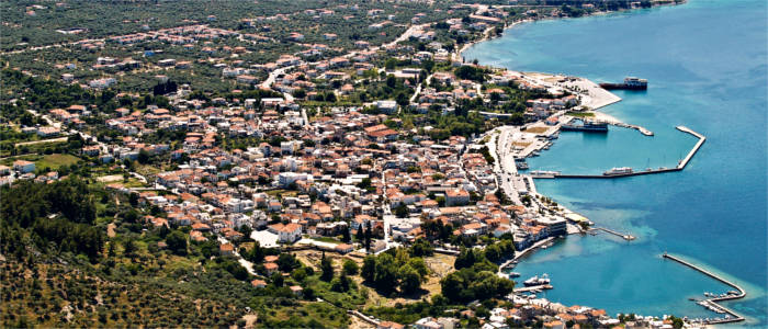 The capital of Thasos