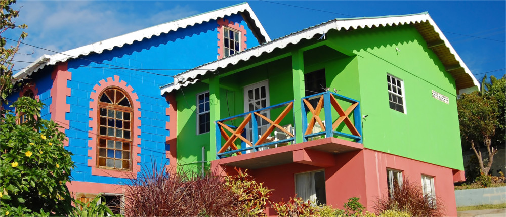 Grenada's colourful Caribbean atmosphere