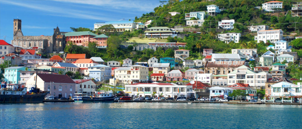St. George's - capital of Grenada