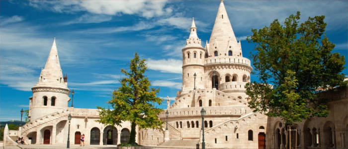 The Fisherman's Bastion in Hungary