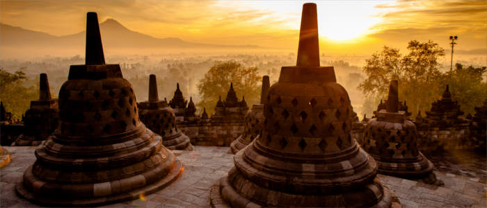 Borobudur in Indonesia
