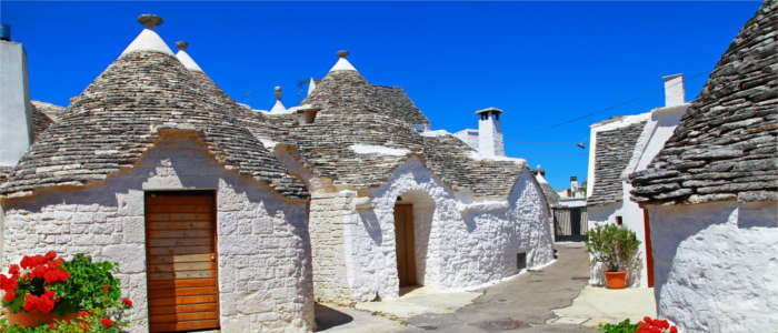 Traditional houses in Apulia