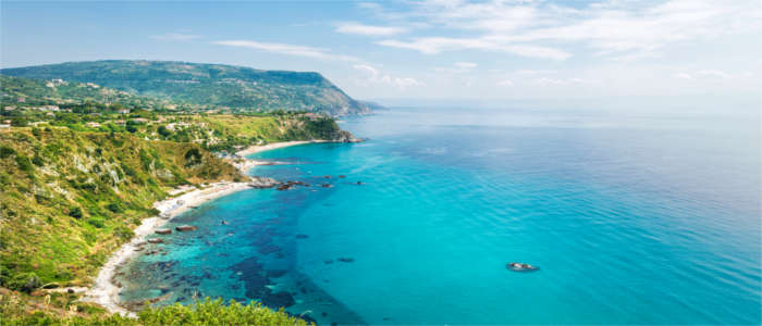 Well-known coastal area in Calabria