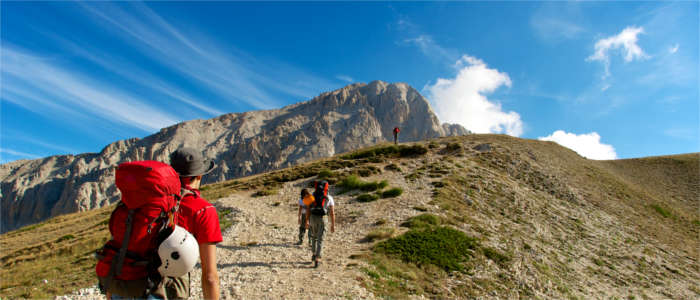 Hiking in the Gran Sasso National Park
