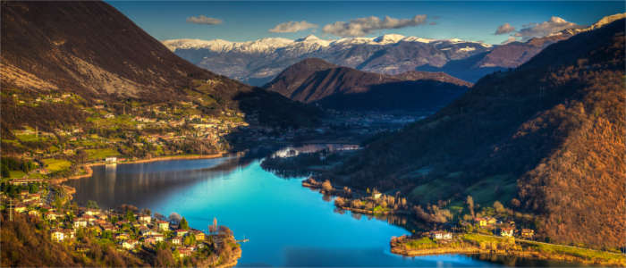Lake in Lombardy