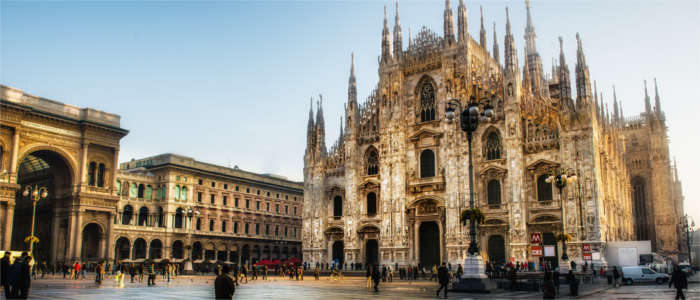The famous Milan Cathedral