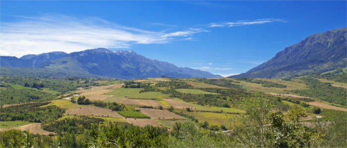 A national park in Abruzzo