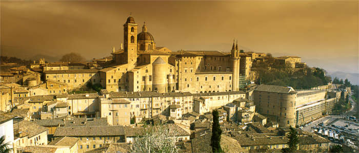 Medieval town in Marche