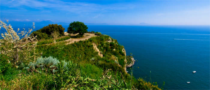 The outermost point of Naples