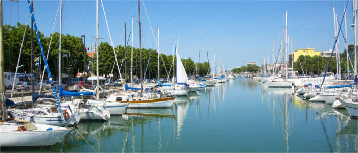 Rimini's harbour
