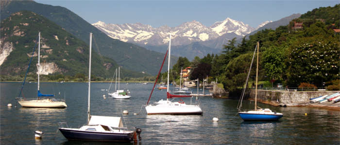 Water sports on Lake Maggiore