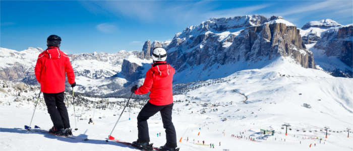Winter sports in Trentino-South Tyrol