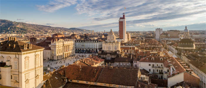 Panorama of Turin