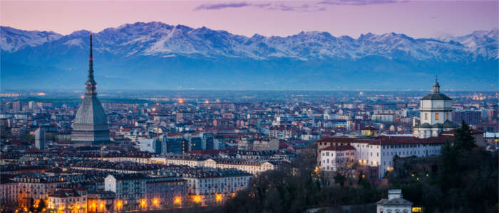 Skyline of Turin