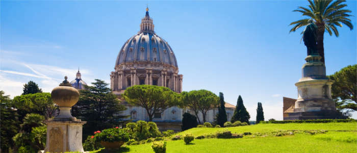 Green spaces in Vatican City