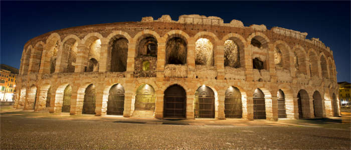 The famous Verona Arena