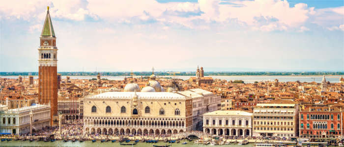Famous view of Venice