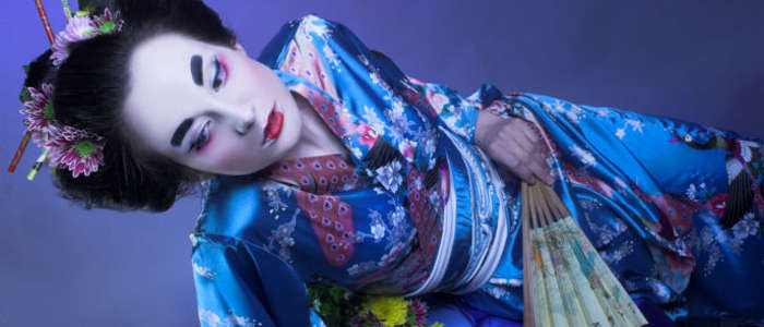 The art of the Japanese geishas