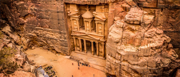 The Nabataean rock city of Petra
