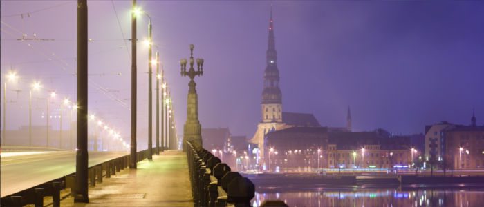 Latvia's capital Riga