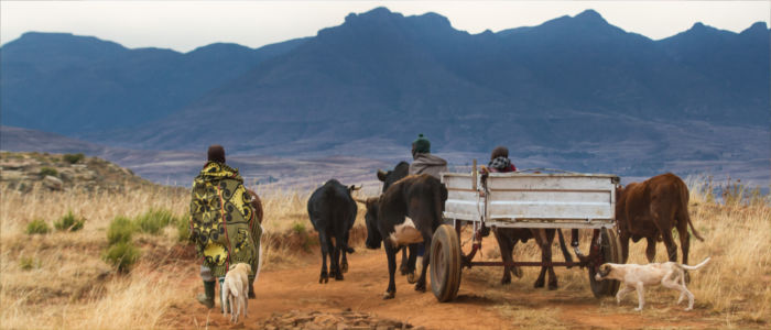 Life of the people in Lesotho