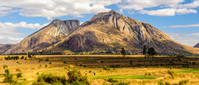 Mountains in Madagascar