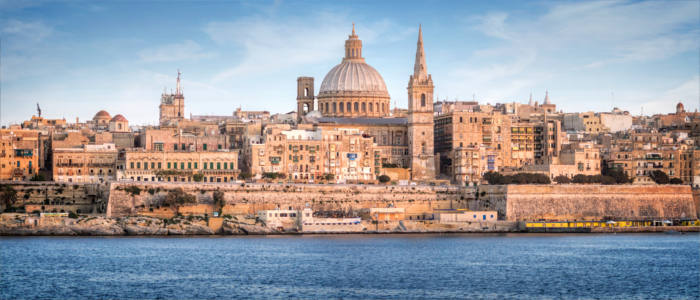 Valletta - the capital of Malta