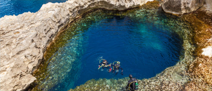 The special diving experience on Malta