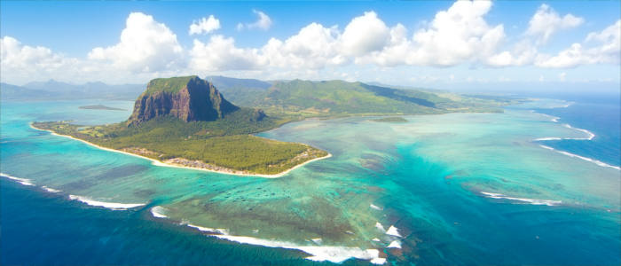 Mauritius in the Indian Ocean
