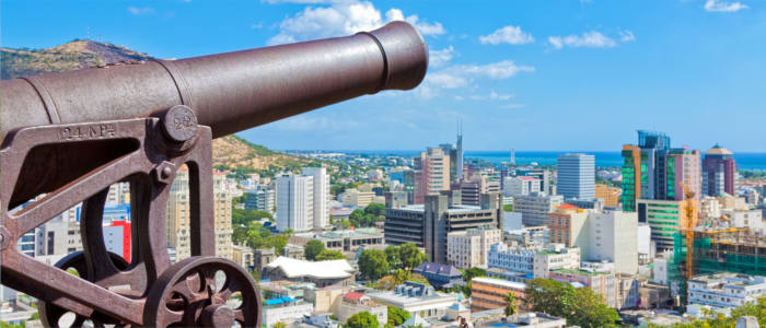 Port Louis - the capital of Mauritius