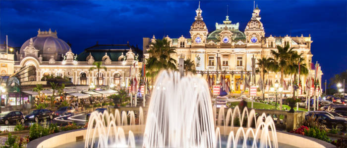 The Casino in Monte-Carlo - Monaco