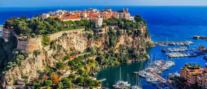 The city state of Monaco
