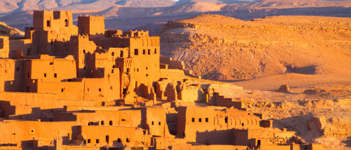 City Ait Benhaddou in Morocco