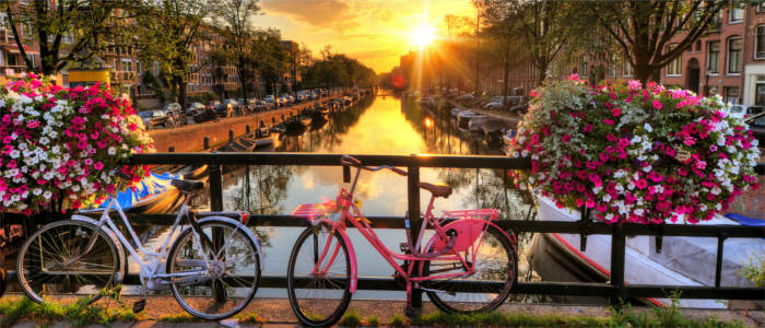 Cycling in the Netherlands - Amsterdam