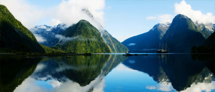 New Zealand's Milford Sound