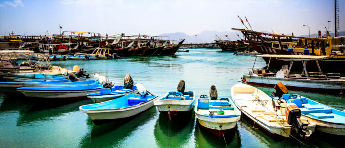 Harbours in Oman