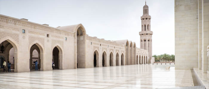 Omani mosque in Muscat