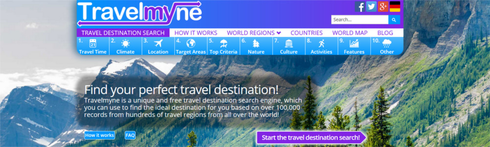Search Travelmyne