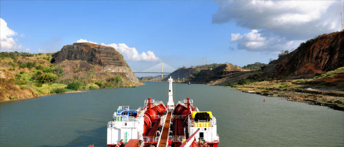 Boat trip on the Panama Canal