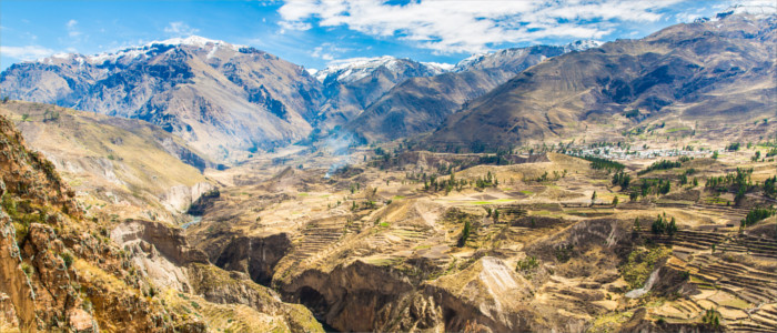 Colca Valley in Peru