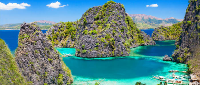 Blue Lagoon in the Philippines